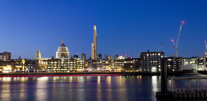 Supertall Timber in London